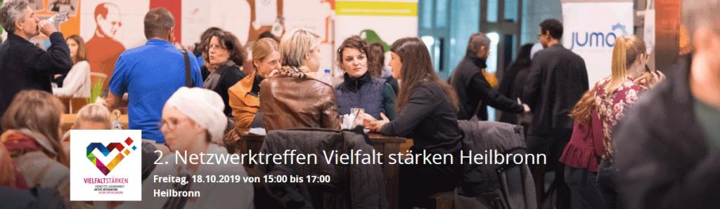 Netzwerkarbeit in Heilbronn für Vielfalt in der Jugendarbeit